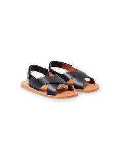 Sandálias azul-marinho menino LGSANDLEO / 21KK3658D0E070