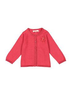 Casaco rosa bebé menina FIJOCAR2 / 19SG0932CAR308