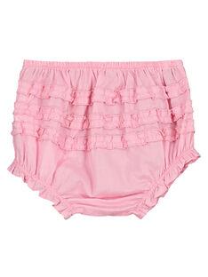 Bloomer rosa bebé menina FIJOBLOO7 / 19SG09G2BLRD303