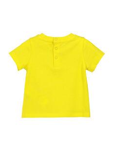 T-shirt Mangas Curtas Amarelo FUJOTI1 / 19SG1031TMC102