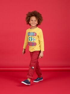 T-shirt mangas compridas - Criança Menino LOROUTEE2 / 21S902K3TML102