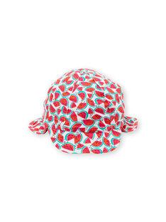 Chapéu branco bebé menina LYICHAEX / 21SI09D2CHA000