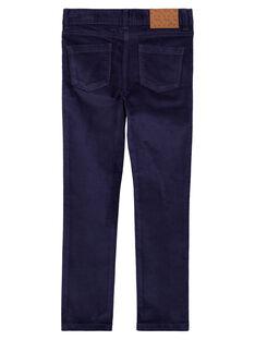 Calças de veludo liso GATRIPANT / 19W901J1PAN070