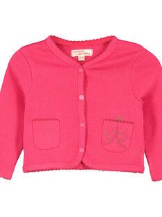 Casaco de algodão bebé menina FIYECAR / 19SG09M1CAR304