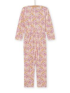 Macacão pijama estampado fantasia menina MEFACOMBZEB / 21WH1181D4FD322