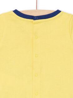 Pijama amarelo bebé menino LEGAPYJTIG / 21SH14C1PYJB116
