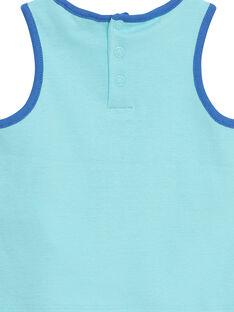Camisola de alças Azul JUQUADEB / 20SG10R1DEBC244