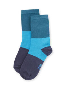 Meias azul bebé menino MYOJOCHOC4 / 21WI0216SOQ714