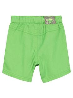 Bermudas verde bebé menino FUYEBER1 / 19SG10M1BER603