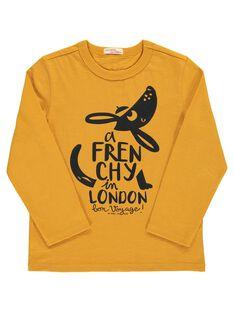Boys' long-sleeved T-shirt DOCHOTEE3 / 18W902F3TMLB101