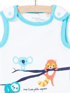 Body sem mangas com padrões animais bebé menino LEGABODAMI / 21SH14G2BDL000