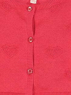 Casaco de algodão bebé menina FICOCAR3 / 19SG0983CAR050