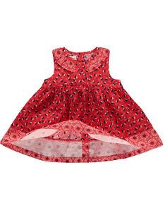 Vestido bebé menina FITOROB1 / 19SG09L1ROB330