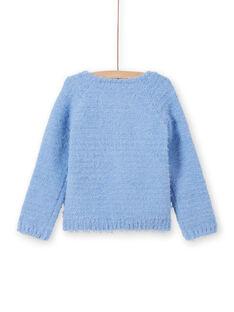 Cardigã azul pálido menina MAYJOCAR3 / 21W90119CAR706