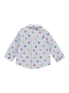 Camisa bebé menino FUCOCHEM / 19SG1081CHM099