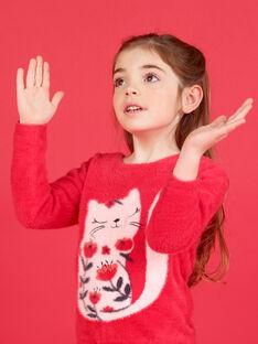 Cardigã-camisola reversível em malha de mangas compridas LAROUCAR / 21S901K1PULF517