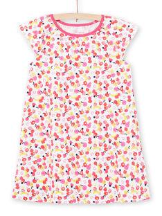Camisa de dormir branca criança menina LEFACHUFRU / 21SH11C1CHN000