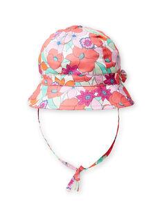 Chapéu estampado florido colorido bebé menina LYIVICHA / 21SI09U1CHA000