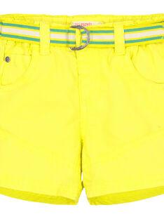 Bermudas amarelo bebé menino FUCABER1 / 19SG10D1BER117
