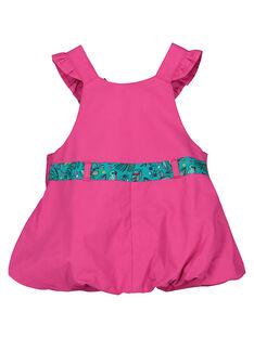 Vestido em popeline bebé menina FITUROB2 / 19SG09F2ROB712