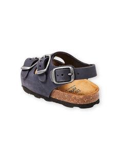 Sandálias azul-marinho bebé menino LBGNUBLEU / 21KK385BD0E070