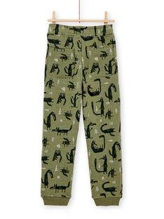 Green PANTS KOBOJOG / 20W902N2PANG607
