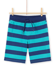 Conjunto de praia turquesa criança menino LOPLAENS3 / 21S902T5ENSC215