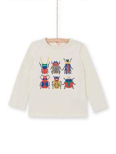 T-shirt mangas compridas - Criança Menino LOROUTEE3 / 21S902K1TML002