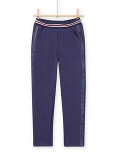 Calças forradas azul menina MAPLAPANT2 / 21W901O2PANC202