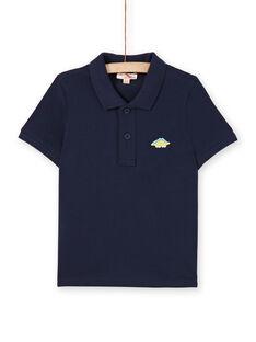 Polo azul-noite - Criança menino LOJOPOL1 / 21S90241POL705