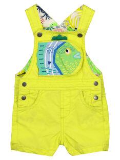 Jardineiras calções bebé menino FUCUSAC / 19SG10N1SACB105