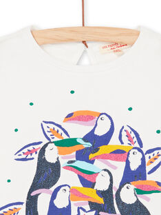 T-shirt mangas compridas estampado tucanos LANAUTEE2 / 21S901P2TML001