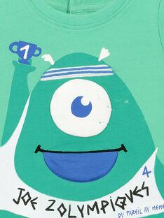 T-shirt de mangas curtas bebé menino FUNETI1 / 19SG10B1TMC602