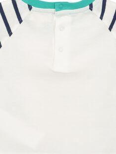 T-shirt reversível bebé menino FUNETI2 / 19SG10B2TMC000