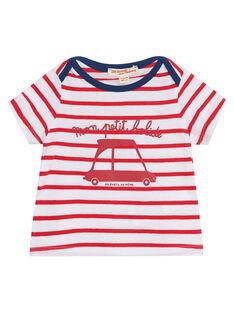 T-shirt Mangas Curtas Vermelho JUJOTI3 / 20SG10T1TMCF524