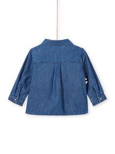 Camisa de ganga de mangas compridas padrão dinossauro bebé menino MUPACHEM / 21WG10H1CHMP274