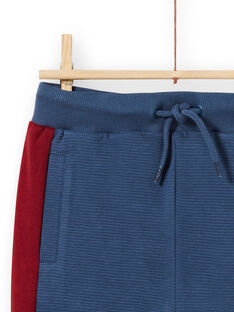 Calças de fato de treino azul-marinho e vermelho menino MOPAJOG / 21W902H1JGB219