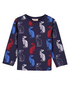 T-shirt Estampado Azul-Marinho GOTRITEE2 / 19W902J3TMLC224