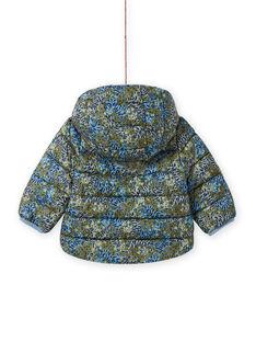 Blusão acolchoado caqui estampado tigres bebé menino MUGRODOU / 21WG1051D3E604