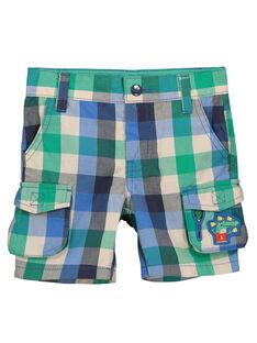 Bermudas fantasia com bolsos menino FOCABER4 / 19S902D4BER205