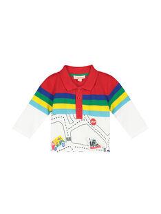 Polo de mangas compridas bebé menino FUCOPOL / 19SG1081POL099