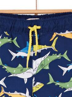 Calções de banho azul-marinho bebé menino LYUMER1EX1 / 21SI10DFMAI070