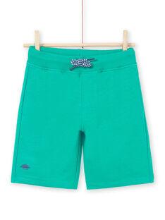 Bermudas verde menino LOJOBER5 / 21S902F9BERG623