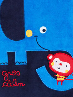 Babygro azul-noite bebé menino LEGAGRELEF / 21SH1454GRE713