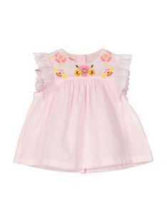Blusa sem mangas bebé menina FIPOCHEM / 19SG09C1CHE307