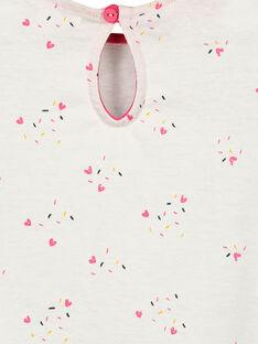 T-shirt mangas curtas bebé menina FICOTI / 19SG0981TMC000