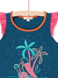 Camisola de alças, estampado papagaio e palmeira LABONDEB1 / 21S901W1DEB716