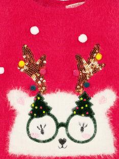 Camisola de Natal menina GINOPULL / 19WG09V1PULF521