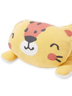 Peluche gato amarelo e laranja de volume macio LOU1DOU1 / 21SF42H4JOU103