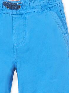 Bermudas azul menino LOJOBERMU1 / 21S902F6BERC209